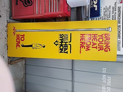 Rare sign wooden sign tall
