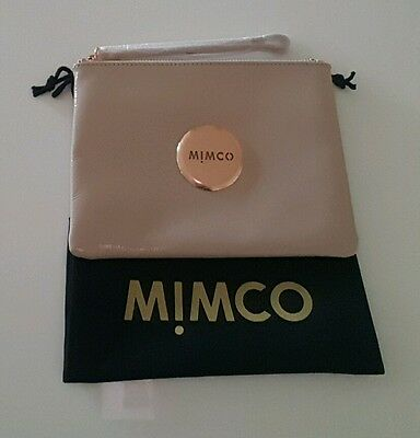 MIMCO PANCAKE MEDIUM POUCH WALLET RRP$99.95 BRAND NEW W TAGS with defect