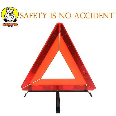 Big Ant Car Emergency Breakdown Warning Triangle Red Reflective Safety Kit