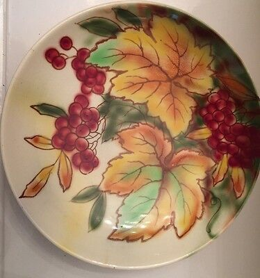 Falcon Ware Plate/dish - Hand Painted - Rosslyn