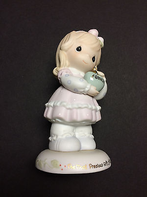 """""""Precious Moments"""" 1996 'The Most Precious Gift Of All' Figurine - Used"""