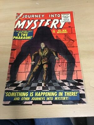 Extremely Rare Journey Into Mystery #36 Nice Shape See The Pics!!