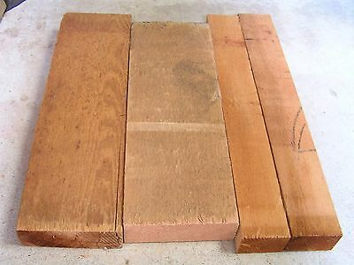 Western red  Cedar Timber offcuts -  4 pieces