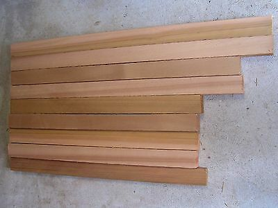 Western red  Cedar Timber offcuts -  9 pieces