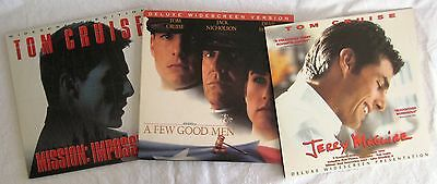LASERDISCS 3 x Tom Cruise Titles - Covers Good Discs are Good to VG