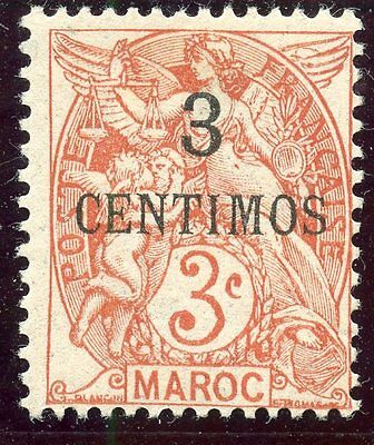 Timbre  Colonies Francaises / Maroc Neuf  N° 22 *