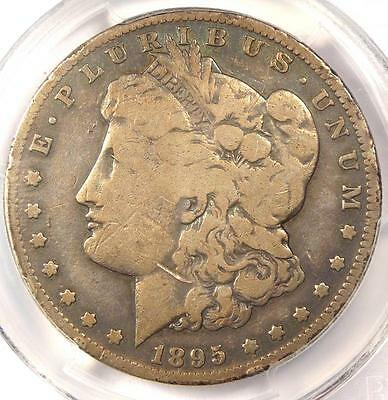 1895-S Morgan Silver Dollar $1 - PCGS VG Details - Rare Key Date Certified Coin