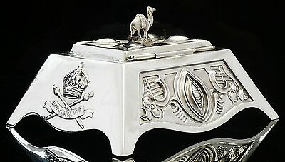 Silver 1901 Coronation Tea Caddy, Mappin & Webb, London 1901