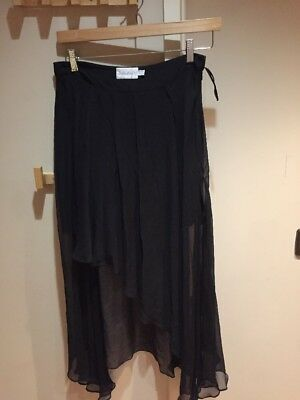 Shakuhachi Black Skirt Size 10