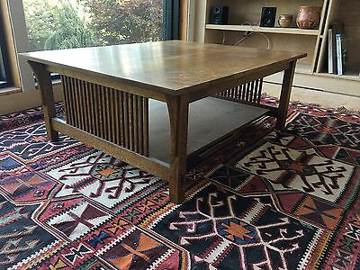 Stickley Cocktail (Coffee) Table-Fayetteville Oak/Mission Collection Authentic