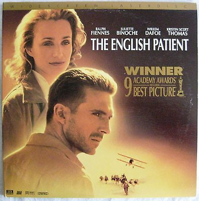 LASERDISC The English Patient (THX) - Cover OK, Discs Good to VG