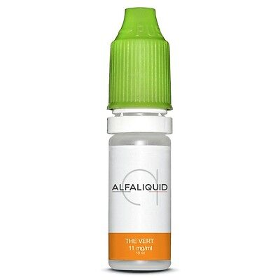ALFALIQUID Thé vert - lot 3 x 10 ml - 11 mg