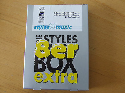 Styles & Music Keyboardsoftware: 8er extra:Best of Rock & Roll PSR-8000