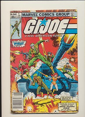 GI Joe #1 (1982 Marvel Comics) SEE PICS AND SCANS! AFFORDABLE KEY BOOK! WOW!