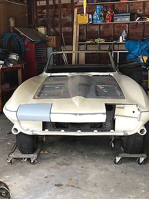 1963 Chevrolet Corvette  1963 Corvette Convertible Fulie, needs restoration