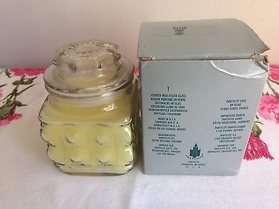 Partylite Pineapple Bubble Jar ~ Fresh Clean smell ~ Retired, HTF, NEW!