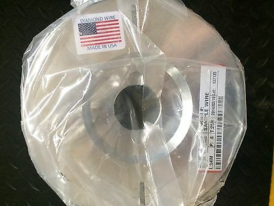 NEW and Sealed Diamond Wire, 350 core, 30-40 diamonds, undressed