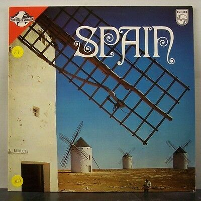 (o) V.A. Songs And Sound The World Around - Spain (Promo-LP)