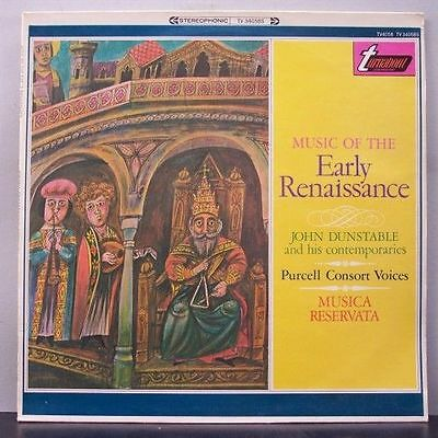 (o) Burgess & Purcell Consort Voices - Dunstable -Music of The Early Renaissance