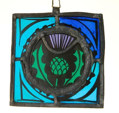 Stained Glass – Thistle - Vintage