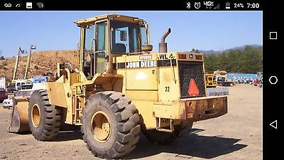 John Deere 624G Wheel Loader (624h 624j 938g 721d 721c 621c 621d Caterpillar Cat