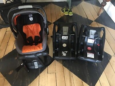 britax b-safe Infant car seat BOB Edition