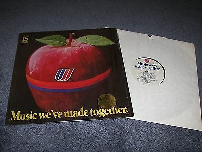 United Airlines early (?) 1980's advertising record album