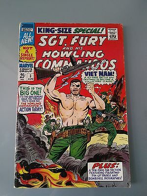 Marvel Sgt. Fury #3 VG 25 Cent Cover. I Combine $5.95 Ship