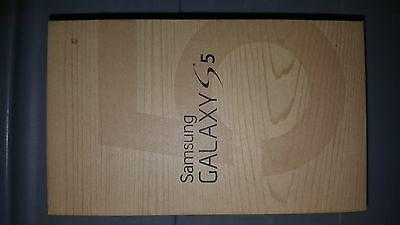 Samsung Galaxy S5 T-Mobile Box & Manual Only! No Phone
