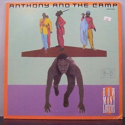 (o) Anthony And The Camp - How Many Lovers (Maxi, USA)