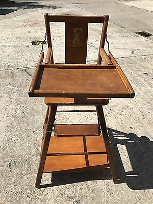 Vintage High Chair / Low chair