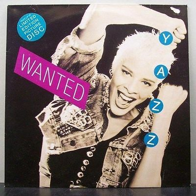 (o) Yazz - Wanted (Picture-LP, UK)