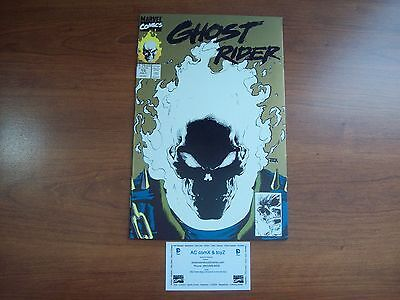 GHOST RIDER #15 GOLD COVER GLOW-IN-THE-DARK 2nd print