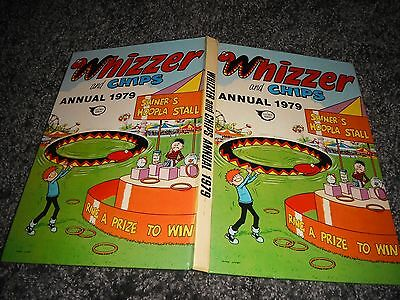 Whizzer And Chips 1979 Annual Lazy Bones Sids Snake The Drips Belle Tent Fusspot