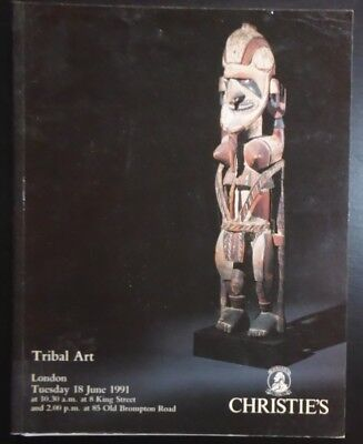 Auction Catalogue Christie's London Tribal Art June 18, 1991 Oceanic African