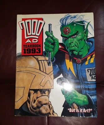 2000AD Yearbook 1993, graphic novel