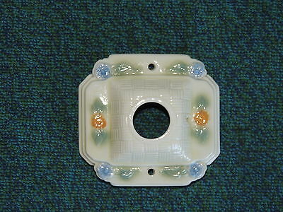 Porcelier Vintage Antique Porcelain Art Deco Ceiling Light Fixture