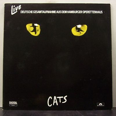 (o) Andrew Lloyd Webber - Cats (2-LP mit Promobeilage)