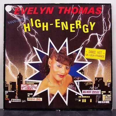 (o) Evelyn Thomas - High Energy (Maxi)