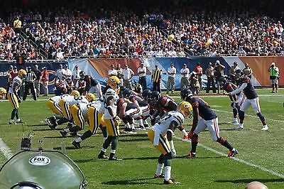 2 FRONT ROW Tickets Bears vs Detroit Lions 11/19 - Section 143 - Row 1