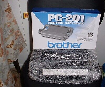 Brother Pc-201 Printing Cartridge Lot Of 1- Brand New