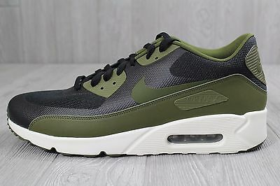 the best attitude 5cce0 19b7a 20 NEW NIKE Men's Air Max 90 ultra 2.0 Essential Shoes Black/Green  875695-004 13