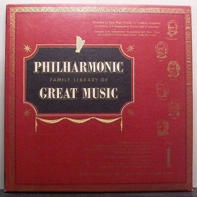 (o) V.A. Philharmonic Family Library Of Great Music 1