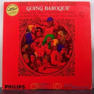 (o) The Swingle Singers - Going Baroque (USA)