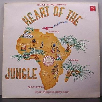 (o) V.A. Heart Of The Jungle - The Best Hits Of Summer '86 (Italy)