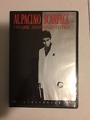 Al Pacino Scarface : 2-Disc Widescreen Anniversary Edition Dvd Fast Shipping