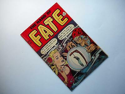 Hand Of Fate #13  (Ace 1951 Series) Vg 4.0 (Glue On Spine) Hanging Cover