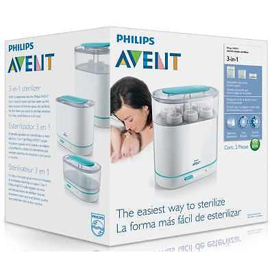 Philips AVENT 3-in-1 Electric SCF284/01 Steam Steriliser Baby Bottle  *SALE*