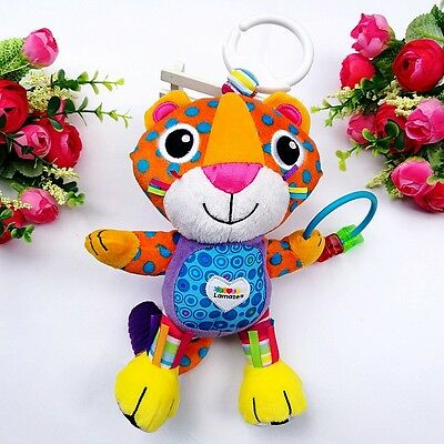Baby Toddler Kid Child Jungle Tiger Roar Unique Rattles Hanging Activity Toy 0+