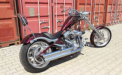 Big Dog K9 300'er S&S 117cui Revtech 6 Gang Highnecker SOFTAIL Custom Bike